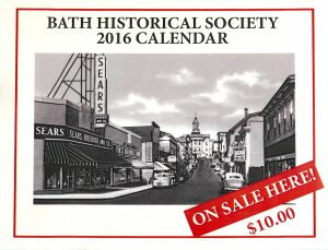 bath historical calendar sale